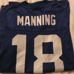 NFL Reebok Manning Colts Jersey